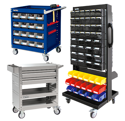 "TOOL TROLLEY <span style=""color:#FF0000;""> (NEW)</span>"